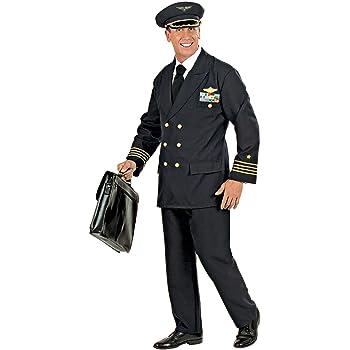 WIDMANN Widman - Disfraz de piloto militar para hombre, talla XL ...