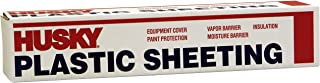 Husky Plastic Sheeting Clear 4ml 12ft x 100ft