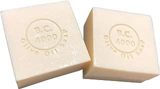 【エーゲ海沿岸産まれの】 B.C.4000 バージン オリーブオイル 石鹸 オーガニック 天然 100% 無添加 (100g × 2個, ネット無し)