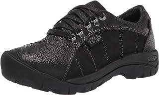 KEEN Women's Presidio Waterproof Hiking Sneaker, Black