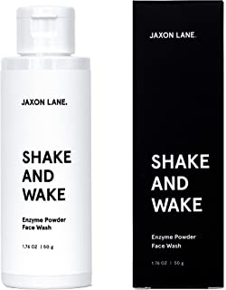 JAXON LANE Shake And Wake Enzyme Powder Face Wash enriched with Papaya & Pineapple Enzyme, Vitamin B3 & B5, Vitamin C & E