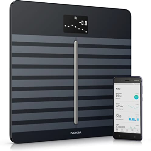 Withings Body Cardio Black - Wi-Fi Smart Scale with Body Composition & Heart Rate