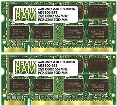 4GB 2X2GB NEMIX RAM Memory for Apple iMac 2006 & 2007