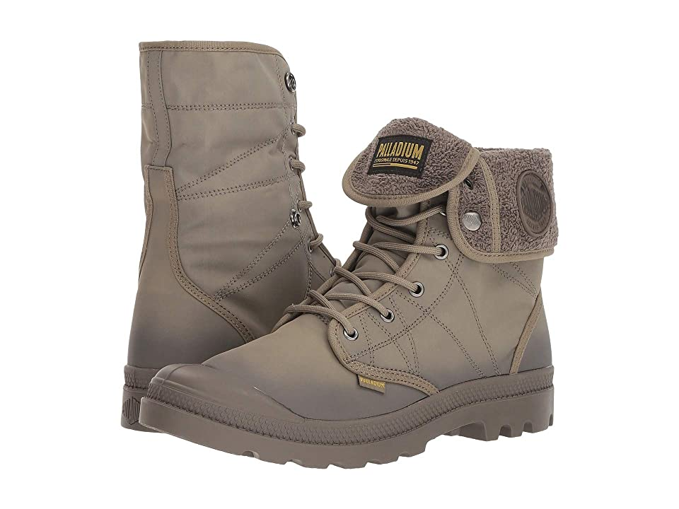 Palladium Pallabrousse Baggy TX (Dusky Green/Major Brown) Lace-up Boots