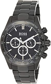 Hugo Boss Mens Quartz Watch, Chronograph Display and Stainless Steel Strap 1512961