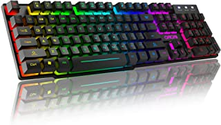 RGB Gaming Keyboard USB Wired CHONCHOW F981 Mechanical Feeli