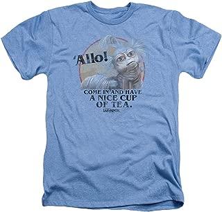 Labyrinth Jim Henson Film Movie Nice Cup of Tea Beast Adult Heather T-Shirt Tee