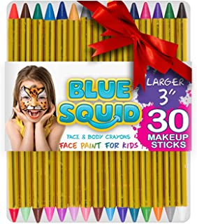 Face Paint Crayons 30 for Kids, 30 Jumbo 3.25