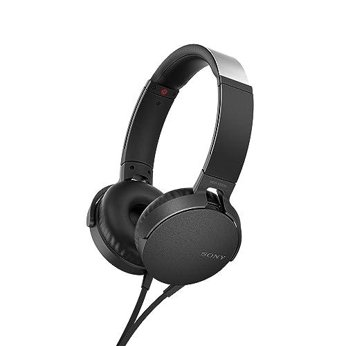 Sony MDRXB550APB Color Negro Auricular con Control y microfono