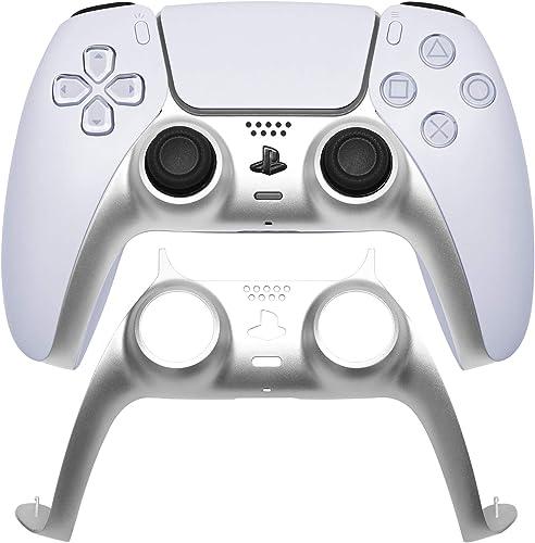 VICKSONGS Bande décorative PS5 Game Grip [Couleur métallique, Ajustement Parfait 1 : 1] Bande décorative remplaçable ...