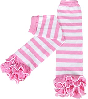 Wrapables Boys' Dots, Hearts, and Ruffles Colorful Baby Leg Warmers