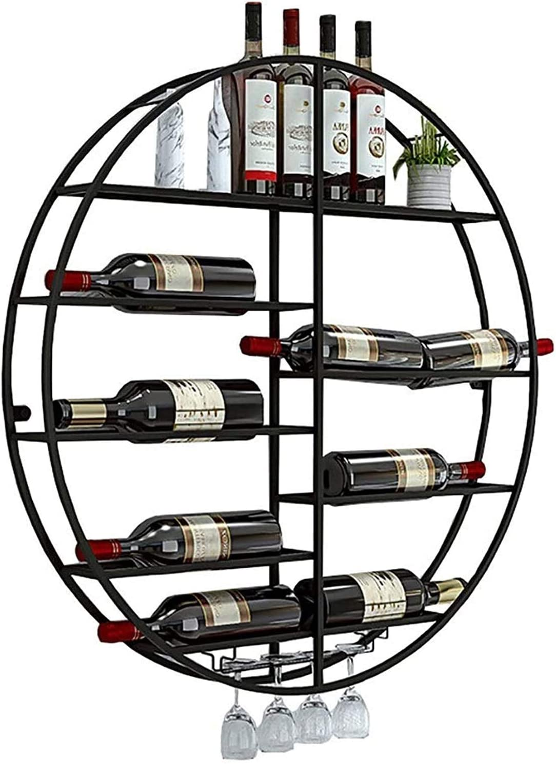 Wine Rack Ceiling Max 51% OFF Hanging Wall Our shop OFFers the best service Holder Bottle
