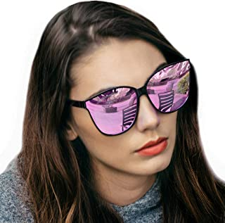 63d52fdcd59 Amazon.com  Oversized Women s Sunglasses
