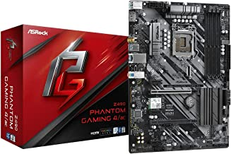 ASRock Phantom Gaming 4/ac Z490 Intel ATX DDR4-SDRAM Motherboard