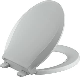 light gray toilet