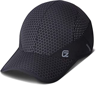 GADIEMENSS Reflective Foldable Running Hat Quick Dry, Lightweight, Breathable, Soft