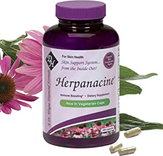 Diamond Herpanacine Natural Skin Care and Immune Support - Vitamins to Help Clear Skin - Complete Skin and Immune System S...