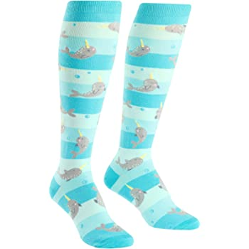 Sock It To Me, Knee High Funky Socks: Sea, Ocean, Nautical