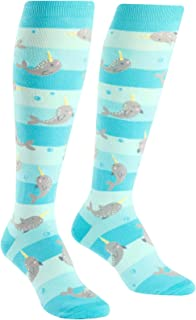 Knee High Funky Socks: Sea, Ocean, Nautical