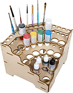 The Broken Token Modular Paint Rack (90° Wedge 26mm Holes)