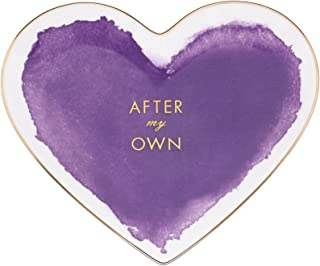 kate spade new york Posy Court Heart Dish - Purple