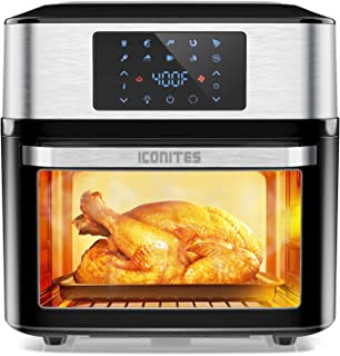 10-in-1 Air Fryer Oven, 20 Quart Airfryer Toaster Oven Combo, 1800W Large Air Fryers, Convection Toaster Oven with Rotisse...