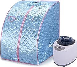 YJIIJY Sauna Tent Box Draagbare Home Spa, Stoomsauna Voor Persoonlijke Spa Body Heater Ontgiften Afvallen 99 x 88 x 76 cm...