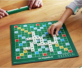 HARIVAR MART® Scrabble Board Game Crossword Original Spelling Game for Kids Alphabet English Puzzles