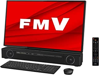 【公式】 富士通 デスクトップパソコン FMV ESPRIMO FHシリーズ WF2/E2 (Windows 10 Home/27型ワイド液晶/Core i7/16GBメモリ/約256GB SSD + 約3TB HDD/Blu-ray Disc...
