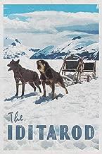 The Iditarod: Trail Sled Dog Race Alaska 2020 Planner Calendar Daily Weekly Monthly Organizer