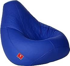 ComfyBean Teardrop Shape Bean Bag , Filled with Bean Filler (Blue, 3XL)