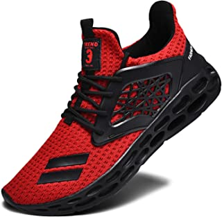 Men's Running Shoes, Lightweight Casual Sneakers Workout Sport Athletic Shoes for Training Tennis Jogging Footwear