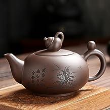 Yixing fioletowy gliniany czajniczek ręcznie robiony czajniczek rudy fioletowy gliniany antyczny czajniczek 240ml