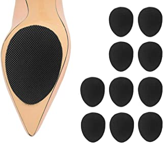 Non-Slip Noise Reduction Shoes Pads, High Quality Adhesive Self-Adhesive Anti-Slip Stick Pad for Shoes Upgraded Skid Proof Sole Stick Protector (5 Pairs)