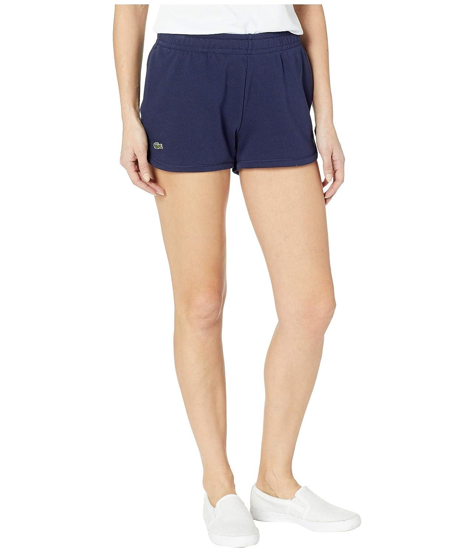 [ラコステ] レディース ハーフ&ショーツ Fleece Drawstring Tennis Shorts [並行輸入品]