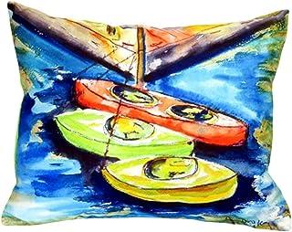 """Betsy Drake NC992 Kayaks No Cord Pillow,,16"""" X20"""""""