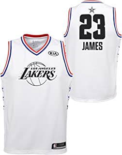 Outerstuff Youth 2019 NBA All-Star Game Lebron James White Swingman Jersey