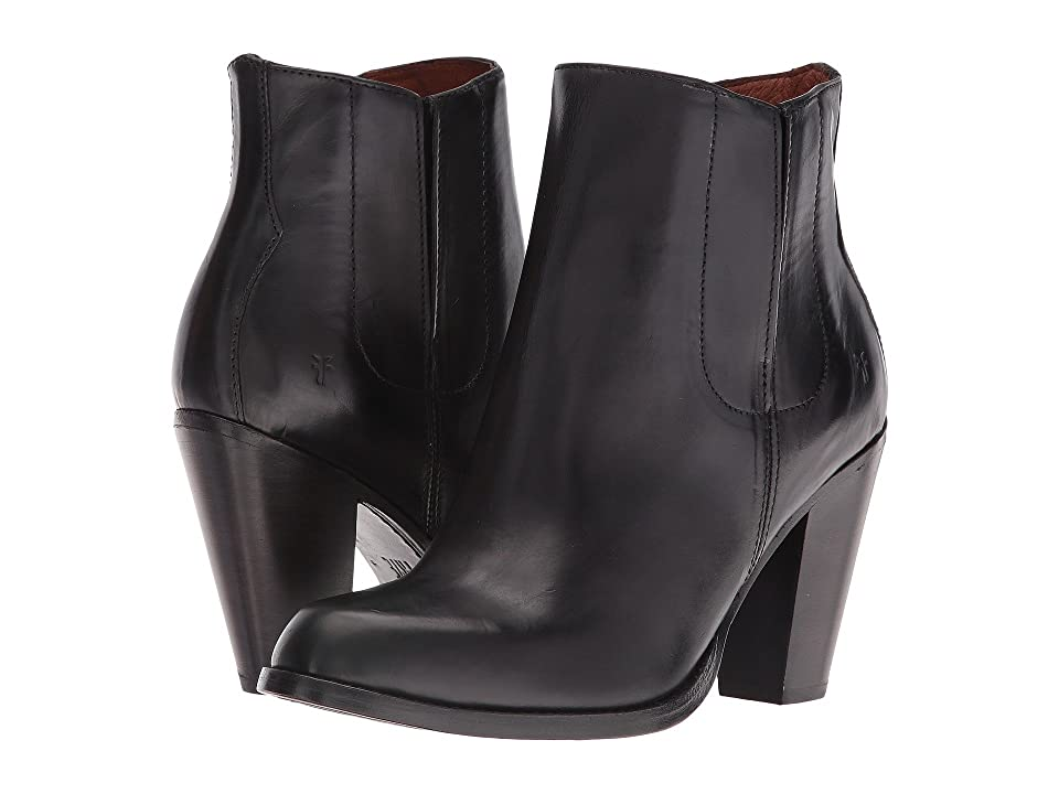 Frye Jenny Jet Chelsea (Black Smooth Veg Calf) Women