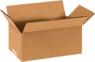 Bundle of 50 4 Length x 3 Width x 3 Height Aviditi M433 Corrugated Mailer Oyster White