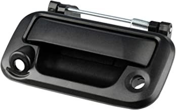 Tailgate Handle with Hole for Backup Camera fits 2008-2014 Ford F-150/2008-2015 Ford F-250 F-350 F-450 F-550 Super Duty (8L3Z9943400AC, 8L3Z 9943400-AC)