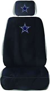 Fremont Die NFL Unisex Seat Cover with Head Rest Cover
