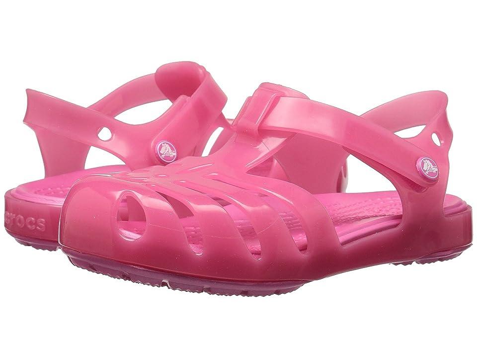 Crocs Kids Isabella Sandal PS (Toddler/Little Kid) (Paradise Pink) Girls Shoes
