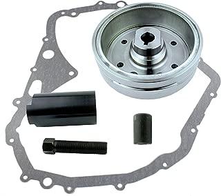 Kit Flywheel + Gasket + Puller Fits Suzuki LTF 400 Eiger - 4x4 2x4 2002-2005 LTF400 | OEM Repl.# 32102-38F00 / 32102-38F01 / 32101-38F00