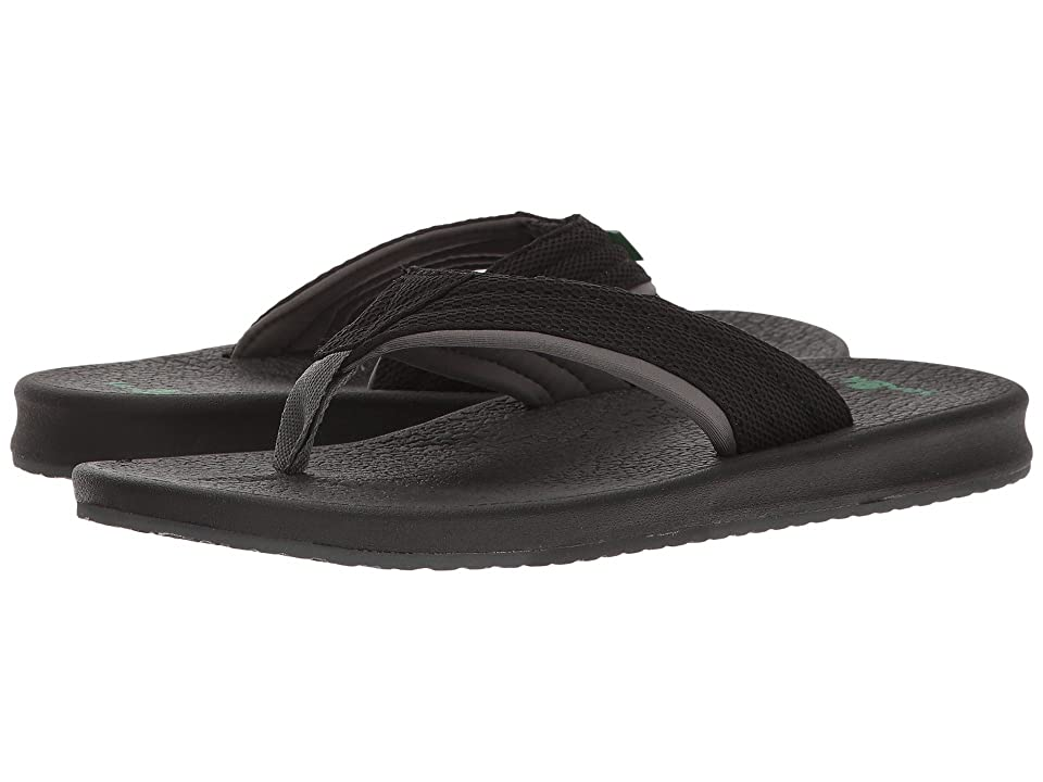 Sanuk Brumeister (Black/Charcoal) Men