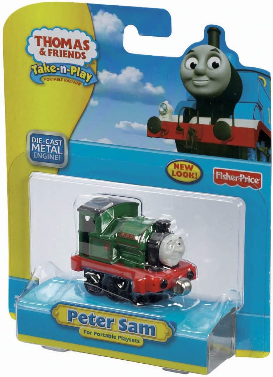 Fisher-Price Bargain sale Thomas Friends 40% OFF Cheap Sale Take-n-Play Peter Sam Engine
