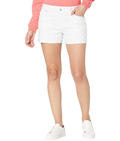 Southern Tide Hayes Denim Shorts (Classic White) Women