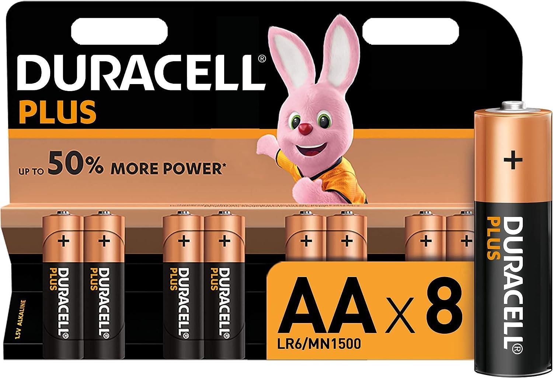 Duracell Plus Power Typ Aa Alkaline Batterien 8er Pack Elektronik