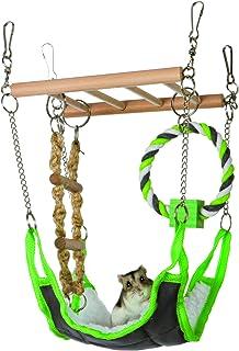 Trixie Hamaca & playbridge, o Jaula de hámster Mascota Juguete