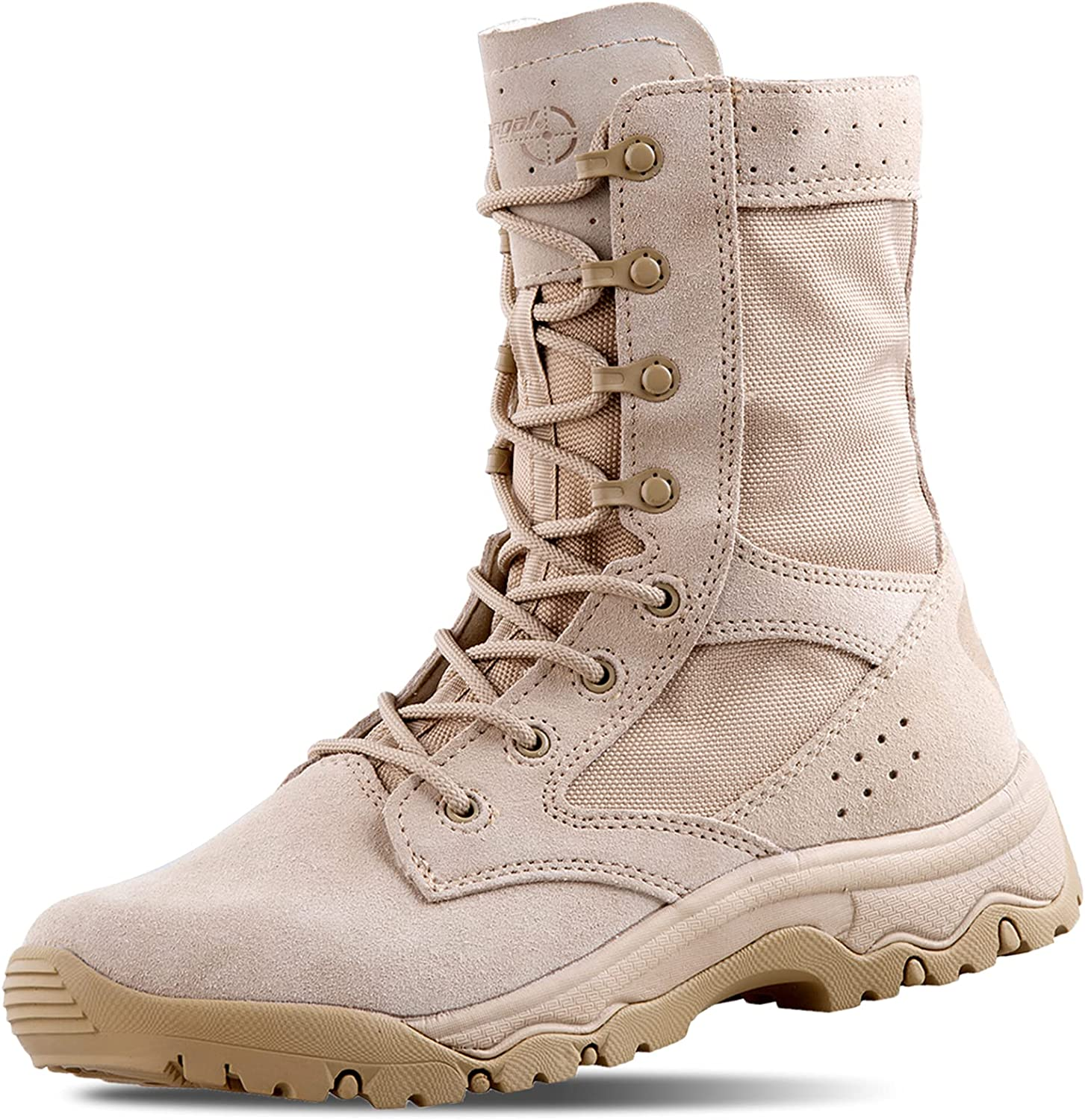 Hanagal Men's 8 inch Desert for Boots Tactical Max 53% OFF Com Fort Worth Mall Military