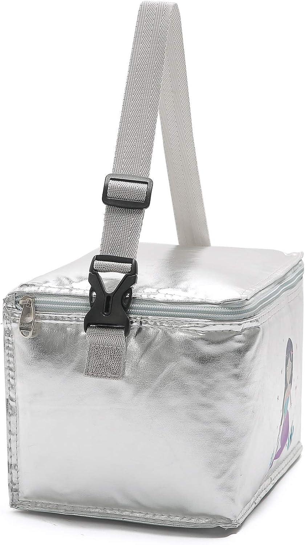borsa termica per il trasporto di alimenti per il pranzo in ufficio Yvonnelee 6 litri Auto isolante